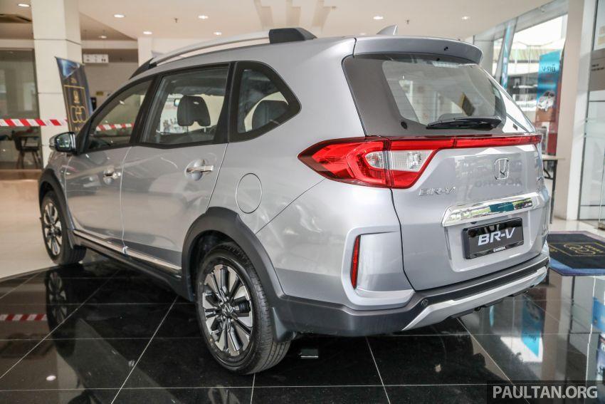GALERI: Honda BR-V facelift 2020 gred V – berharga RM96,900 dengan rupa luar dan dalam disegarkan Image #1127306