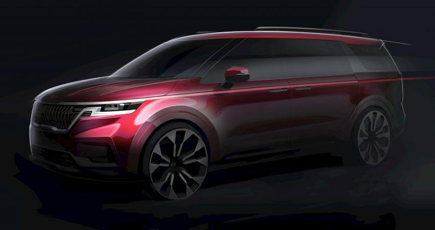 Kia Carnival – <em>teaser</em> model generasi ke-empat ditunjukkan, dijangka dilancarkan pada Q3 2020 Image #1132658
