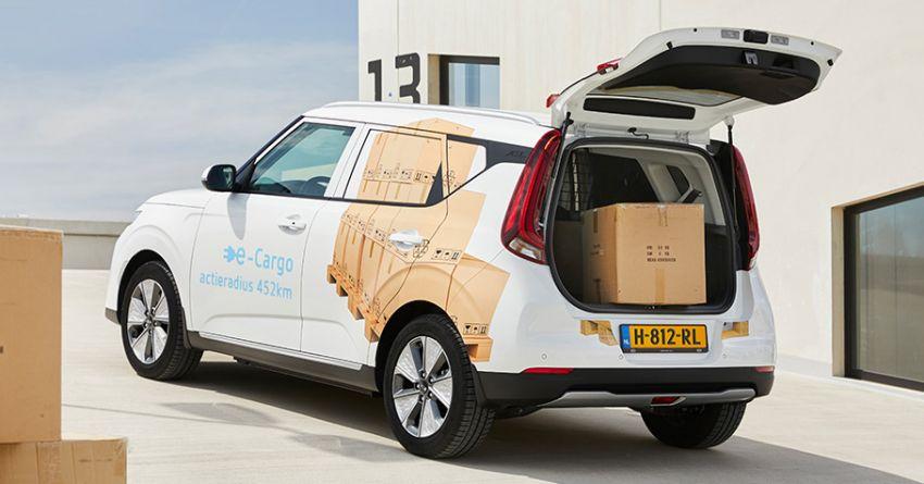 Kia e-Soul Cargo gets revealed for the Netherlands Image #1129845