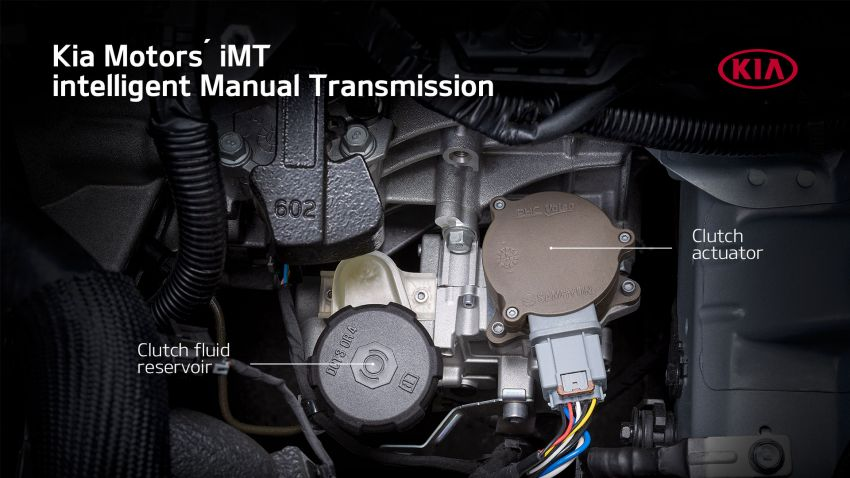 Kia details its new clutch-by-wire intelligent Manual Transmission for mild hybrid petrol, diesel powertrains Image #1135717