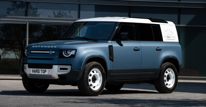 Land Rover Defender Hard Top commercial model returns; two wheelbase versions, 3,500 kg tow rating Image #1137786