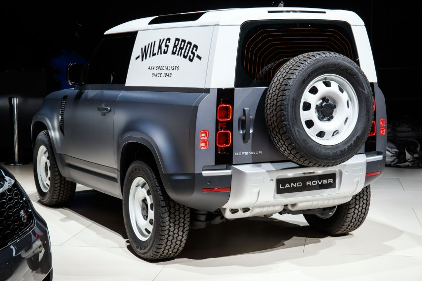 Land Rover Defender Hard Top commercial model returns; two wheelbase versions, 3,500 kg tow rating Image #1137779
