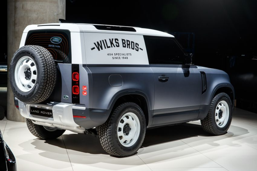 Land Rover Defender Hard Top commercial model returns; two wheelbase versions, 3,500 kg tow rating Image #1137778