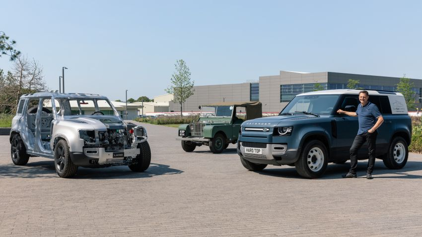 Land Rover Defender Hard Top commercial model returns; two wheelbase versions, 3,500 kg tow rating Image #1137775