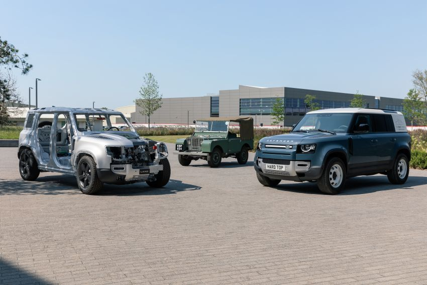 Land Rover Defender Hard Top commercial model returns; two wheelbase versions, 3,500 kg tow rating Image #1137774
