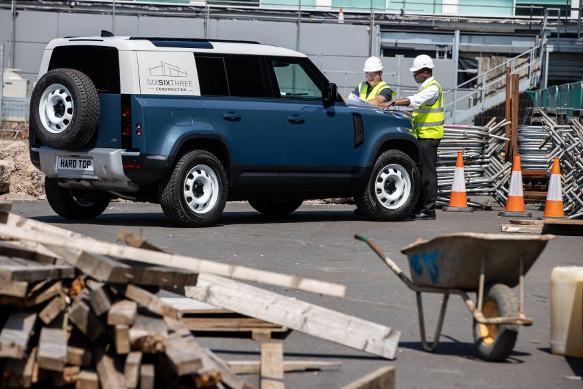 Land Rover Defender Hard Top commercial model returns; two wheelbase versions, 3,500 kg tow rating Image #1137788