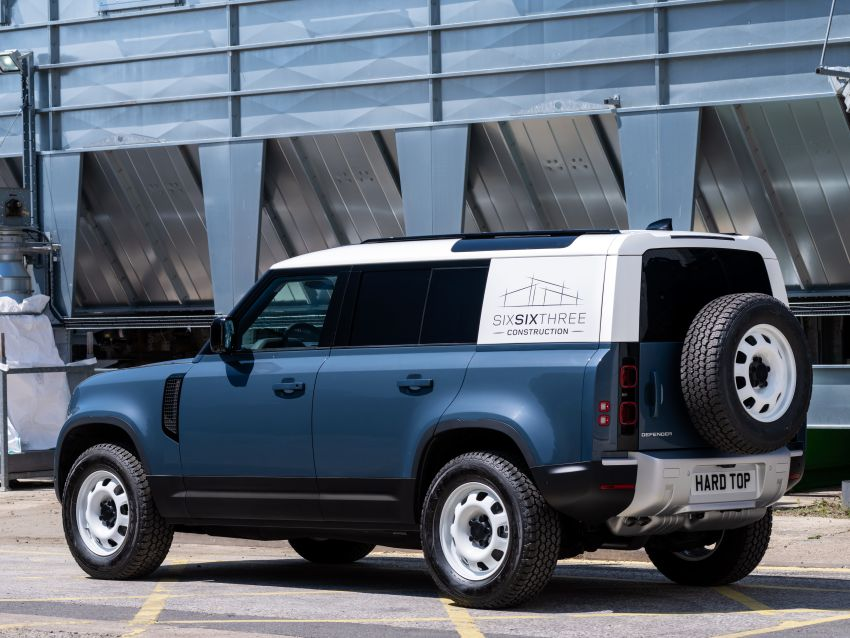 Land Rover Defender Hard Top commercial model returns; two wheelbase versions, 3,500 kg tow rating Image #1137785