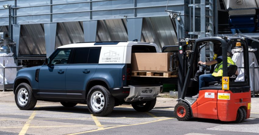 Land Rover Defender Hard Top commercial model returns; two wheelbase versions, 3,500 kg tow rating Image #1137783