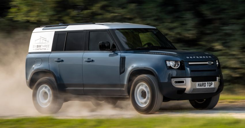 Land Rover Defender Hard Top commercial model returns; two wheelbase versions, 3,500 kg tow rating Image #1137782