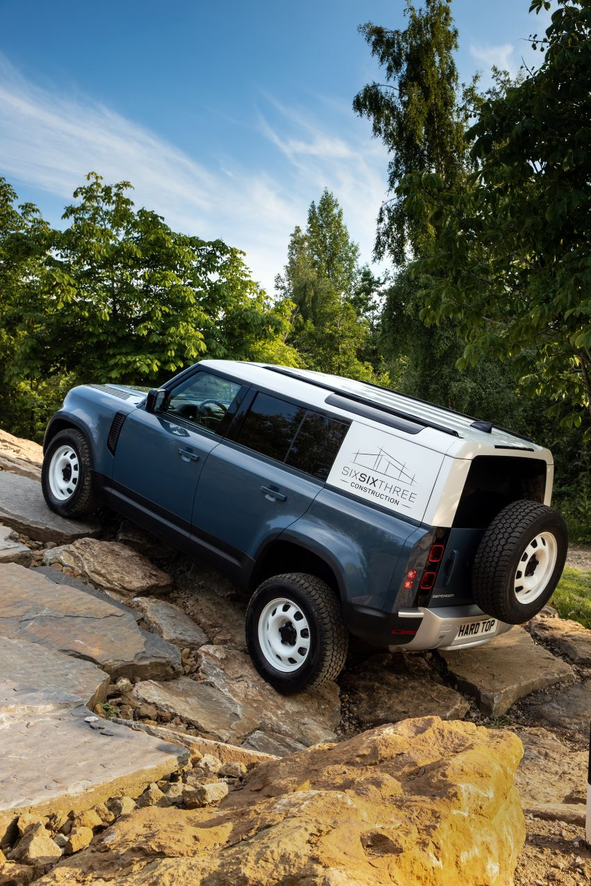 Land Rover Defender Hard Top commercial model returns; two wheelbase versions, 3,500 kg tow rating Image #1137781