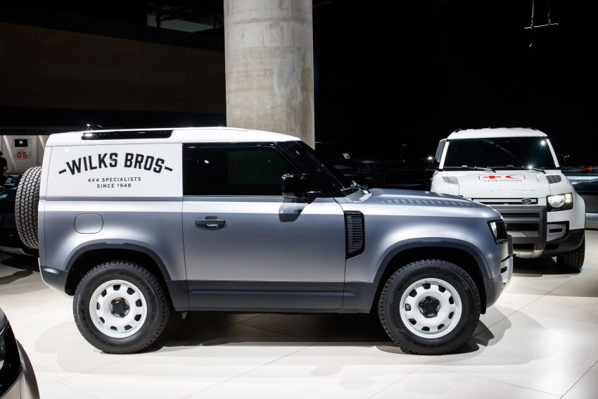 Land Rover Defender Hard Top commercial model returns; two wheelbase versions, 3,500 kg tow rating Image #1137780