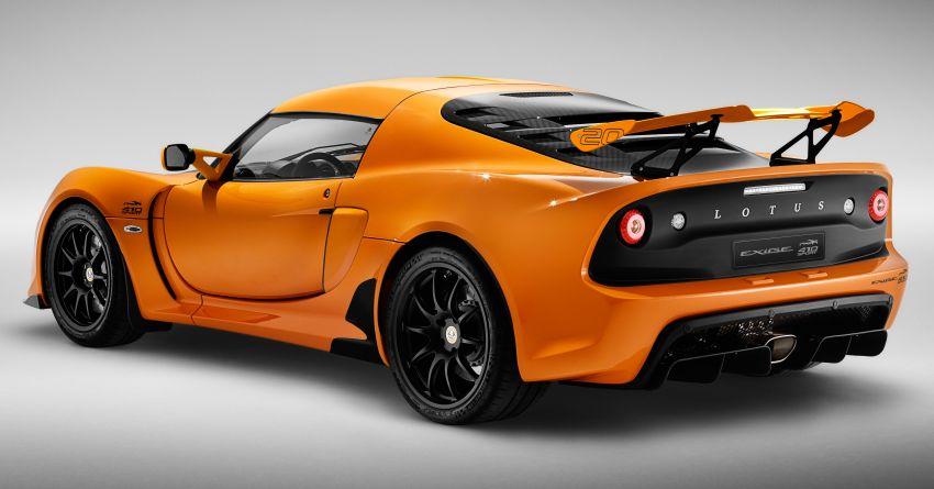 2020 Lotus Exige Sport 410 20th Anniversary unveiled Image #1134741