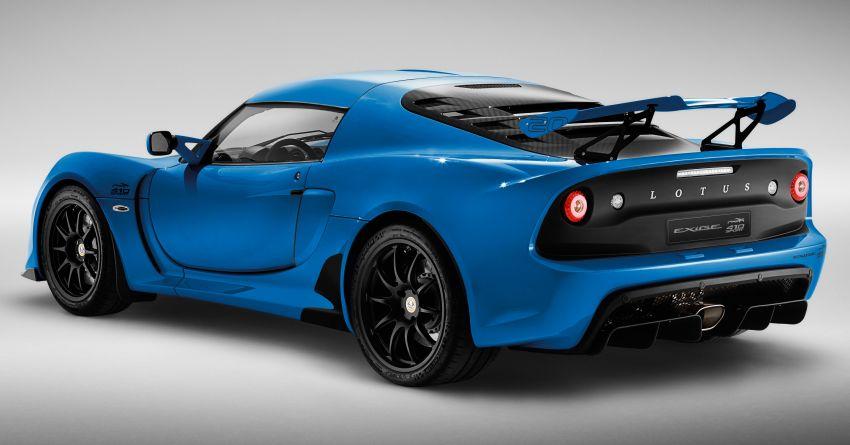2020 Lotus Exige Sport 410 20th Anniversary unveiled Image #1134742