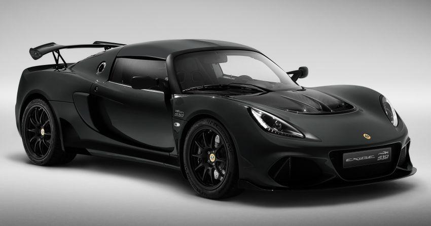 2020 Lotus Exige Sport 410 20th Anniversary unveiled Image #1134747