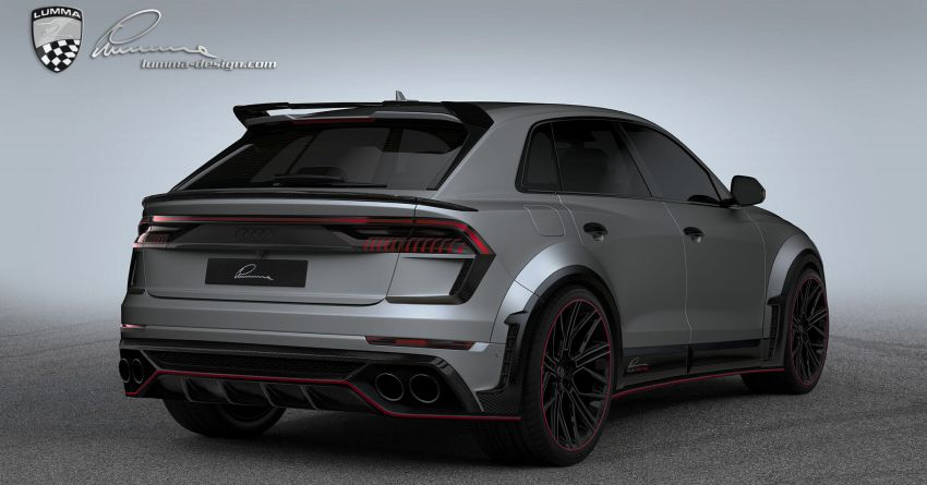 Lumma CLR 8 RS – Audi RS Q8 with 705 PS, 910 Nm Image #1131171