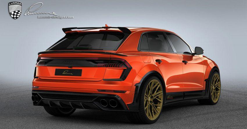 Lumma CLR 8 RS – Audi RS Q8 with 705 PS, 910 Nm Image #1131163