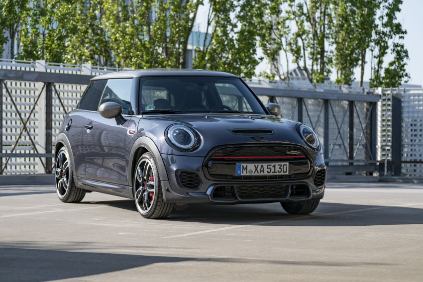 MINI John Cooper Works GP Pack – visual kit for the 231 hp three-door John Cooper Works hatchback Image #1128898