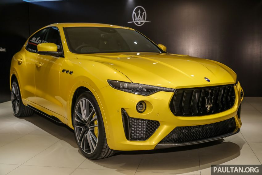 Maserati Levante Trofeo Launch Edition arrives in Malaysia – only 3 units; 590 hp V8; from RM838,800 Image #1126289