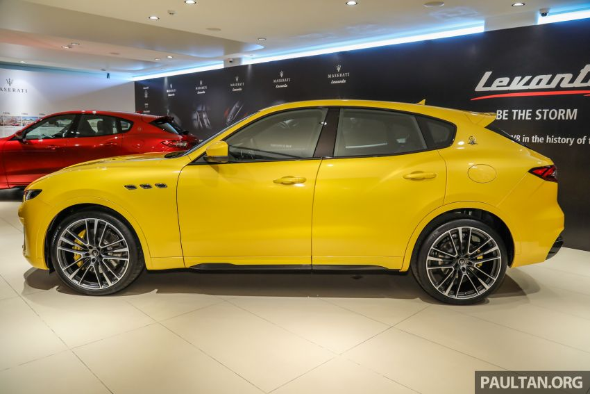 Maserati Levante Trofeo Launch Edition arrives in Malaysia – only 3 units; 590 hp V8; from RM838,800 Image #1126290