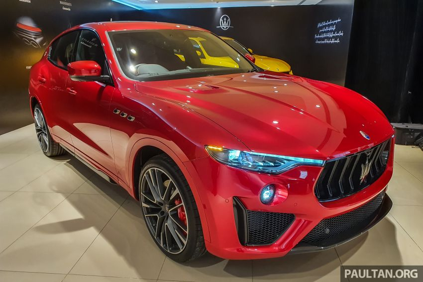 Maserati Levante Trofeo Launch Edition arrives in Malaysia – only 3 units; 590 hp V8; from RM838,800 Image #1126202