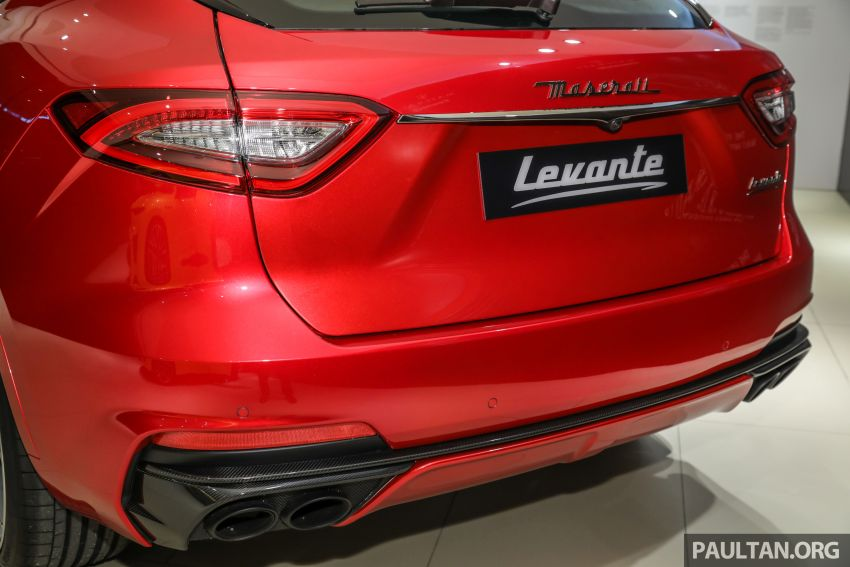 Maserati Levante Trofeo Launch Edition arrives in Malaysia – only 3 units; 590 hp V8; from RM838,800 Image #1126224