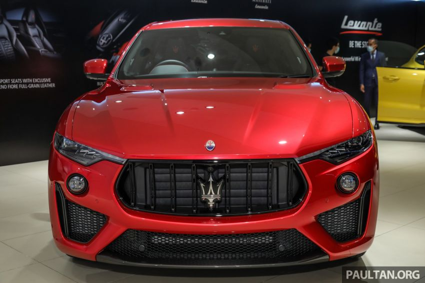 Maserati Levante Trofeo Launch Edition arrives in Malaysia – only 3 units; 590 hp V8; from RM838,800 Image #1126207