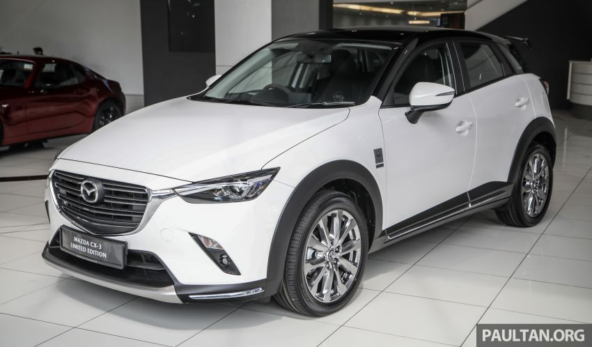 Mazda CX-3 Limited Edition accessories package – bodykit, suede interior, chassis bracing, JBL, RM14.5k Image #1137538