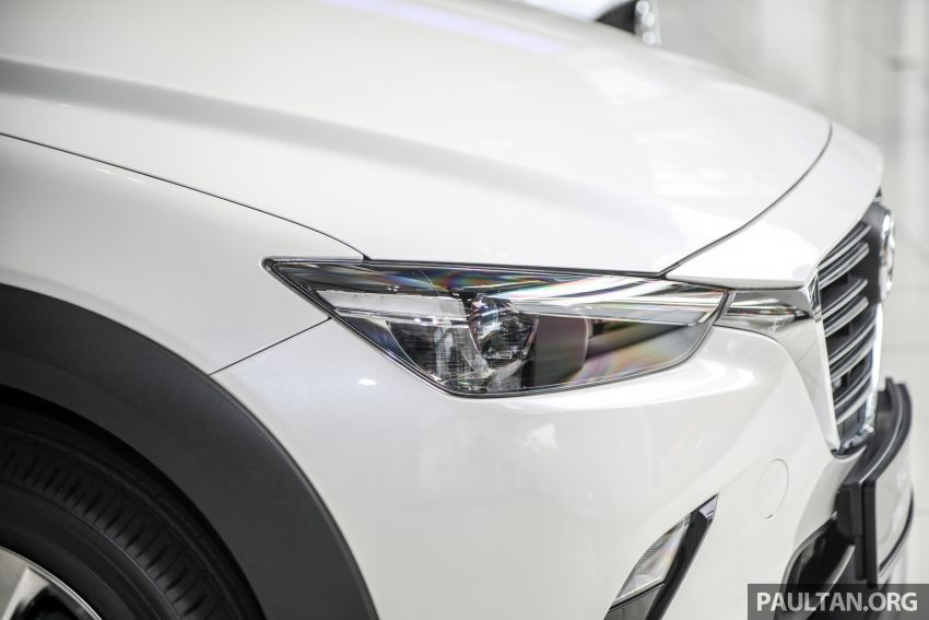 Mazda CX-3 Limited Edition accessories package – bodykit, suede interior, chassis bracing, JBL, RM14.5k Image #1137547