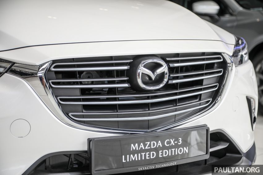 Mazda CX-3 Limited Edition accessories package – bodykit, suede interior, chassis bracing, JBL, RM14.5k Image #1137550