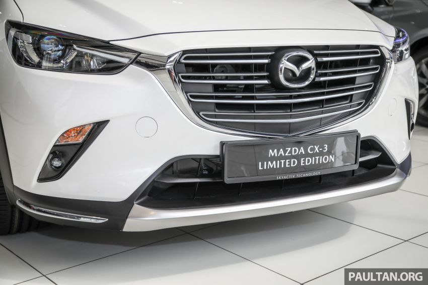 Mazda CX-3 Limited Edition accessories package – bodykit, suede interior, chassis bracing, JBL, RM14.5k Image #1137551