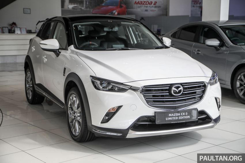Mazda CX-3 Limited Edition accessories package – bodykit, suede interior, chassis bracing, JBL, RM14.5k Image #1137539
