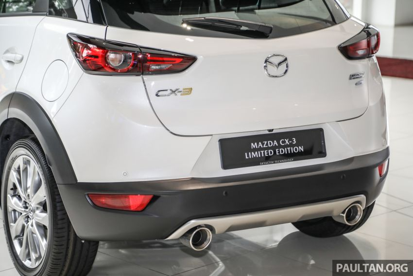 Mazda CX-3 Limited Edition accessories package – bodykit, suede interior, chassis bracing, JBL, RM14.5k Image #1137560