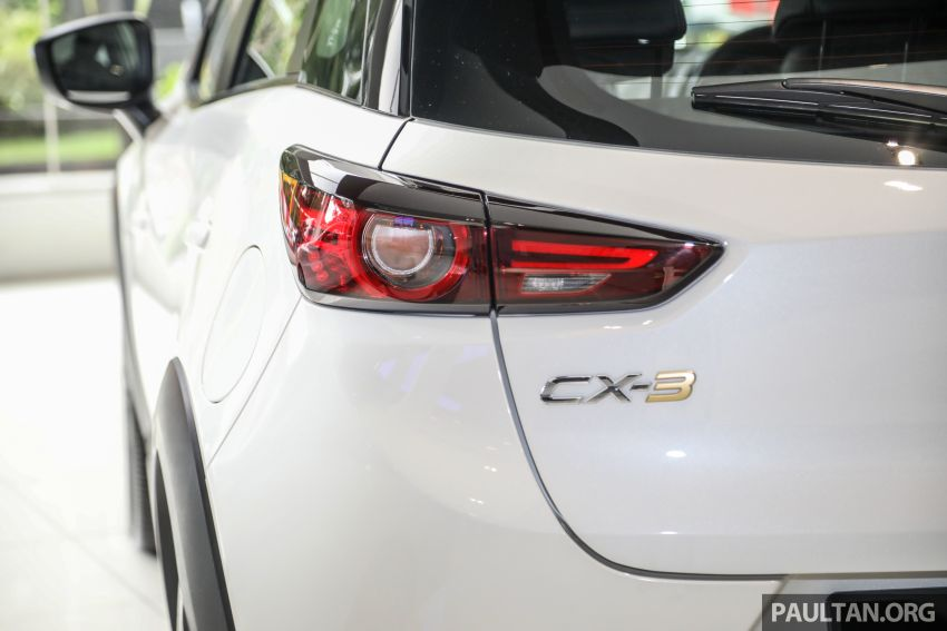 Mazda CX-3 Limited Edition accessories package – bodykit, suede interior, chassis bracing, JBL, RM14.5k Image #1137561