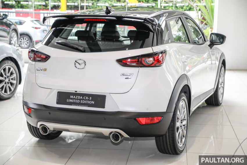 Mazda CX-3 Limited Edition accessories package – bodykit, suede interior, chassis bracing, JBL, RM14.5k Image #1137540