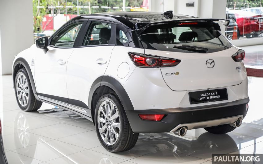 Mazda CX-3 Limited Edition accessories package – bodykit, suede interior, chassis bracing, JBL, RM14.5k Image #1137541