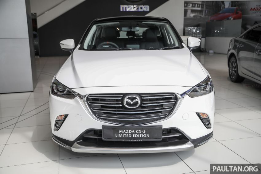Mazda CX-3 Limited Edition accessories package – bodykit, suede interior, chassis bracing, JBL, RM14.5k Image #1137542