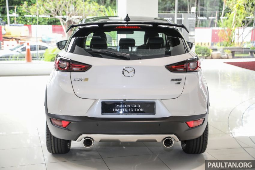 Mazda CX-3 Limited Edition accessories package – bodykit, suede interior, chassis bracing, JBL, RM14.5k Image #1137543