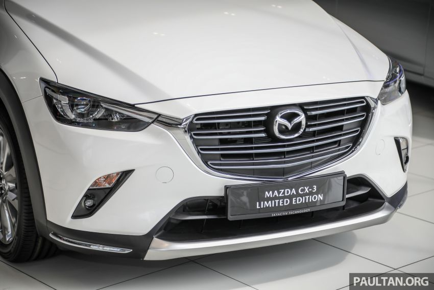 Mazda CX-3 Limited Edition accessories package – bodykit, suede interior, chassis bracing, JBL, RM14.5k Image #1137545