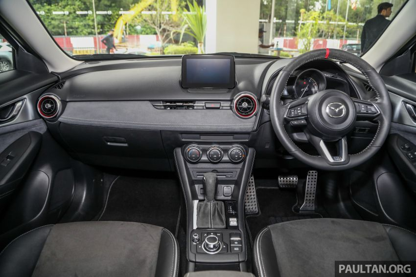 Mazda CX-3 Limited Edition accessories package – bodykit, suede interior, chassis bracing, JBL, RM14.5k Image #1137572