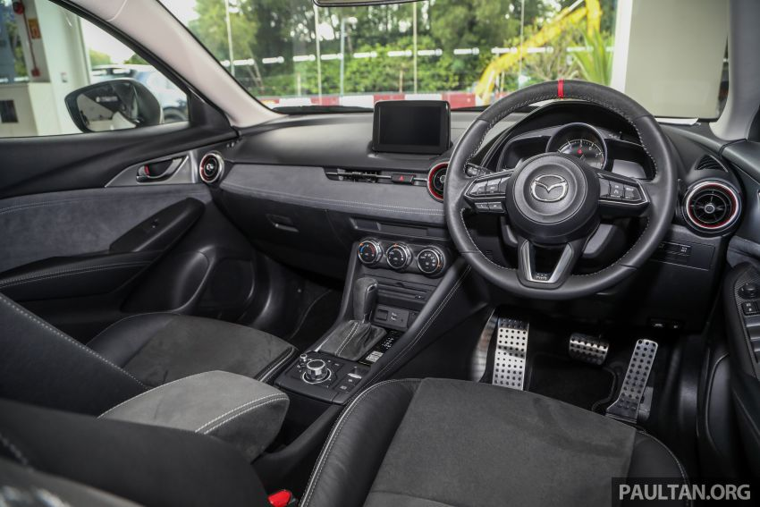 Mazda CX-3 Limited Edition accessories package – bodykit, suede interior, chassis bracing, JBL, RM14.5k Image #1137586