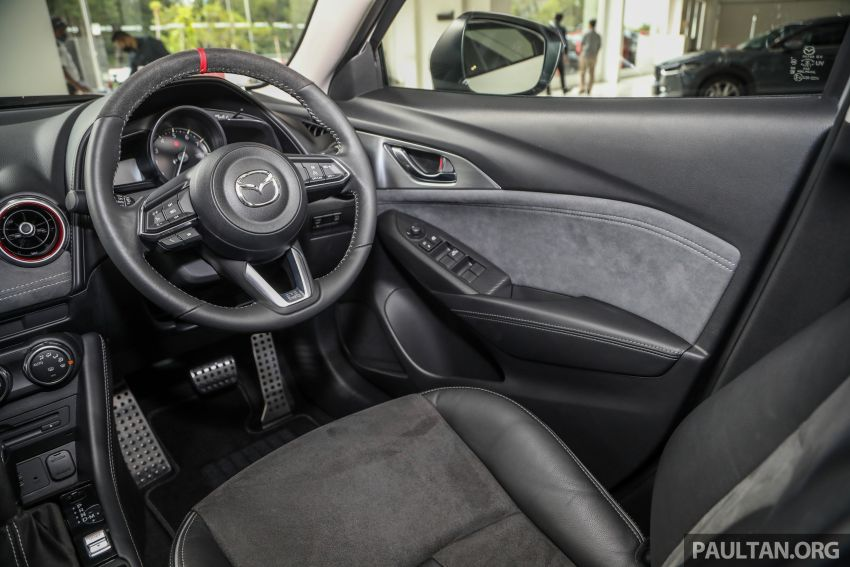 Mazda CX-3 Limited Edition accessories package – bodykit, suede interior, chassis bracing, JBL, RM14.5k Image #1137587