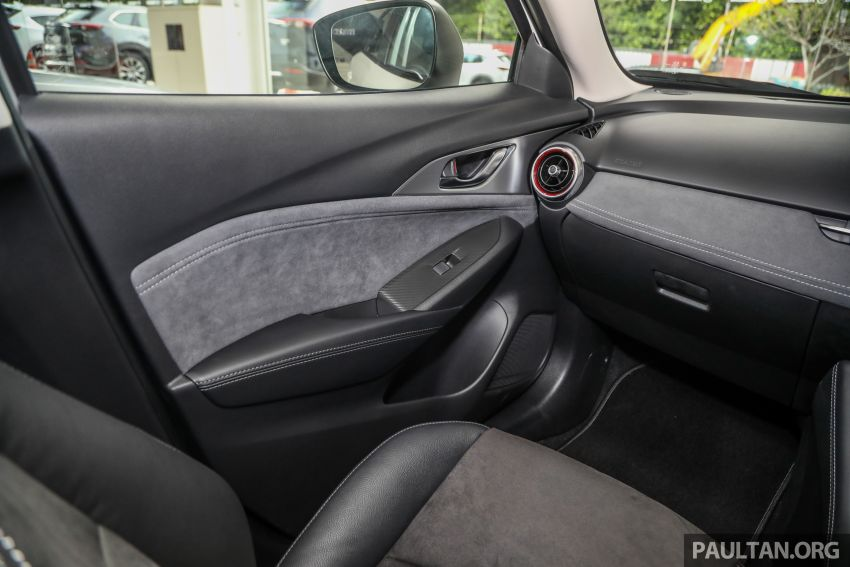 Mazda CX-3 Limited Edition accessories package – bodykit, suede interior, chassis bracing, JBL, RM14.5k Image #1137588