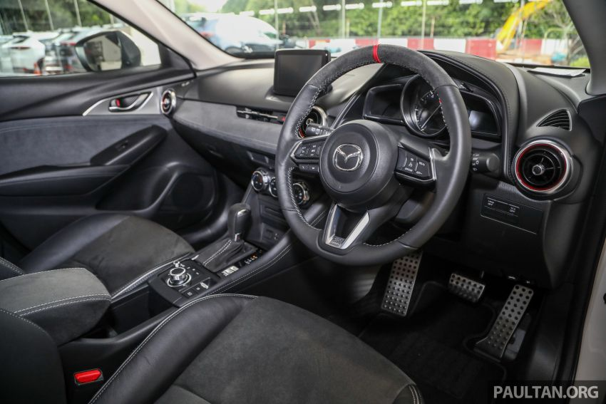 Mazda CX-3 Limited Edition accessories package – bodykit, suede interior, chassis bracing, JBL, RM14.5k Image #1137573