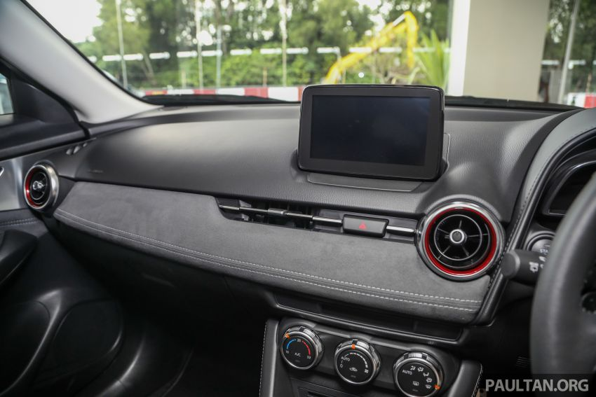 Mazda CX-3 Limited Edition accessories package – bodykit, suede interior, chassis bracing, JBL, RM14.5k Image #1137576