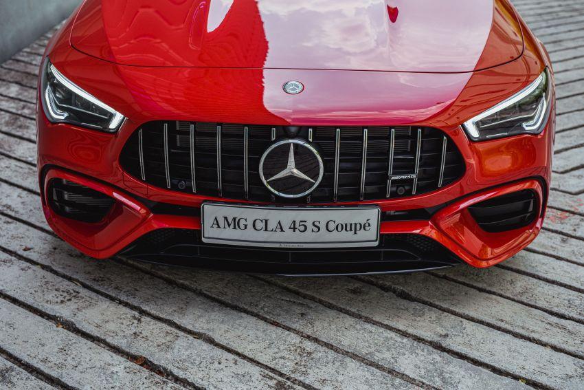 Mercedes-AMG CLA45 S 4Matic+ C118 kini di Malaysia – RM448,888, ada Drift Mode, berkuasa 421 PS/500 Nm Image #1124139