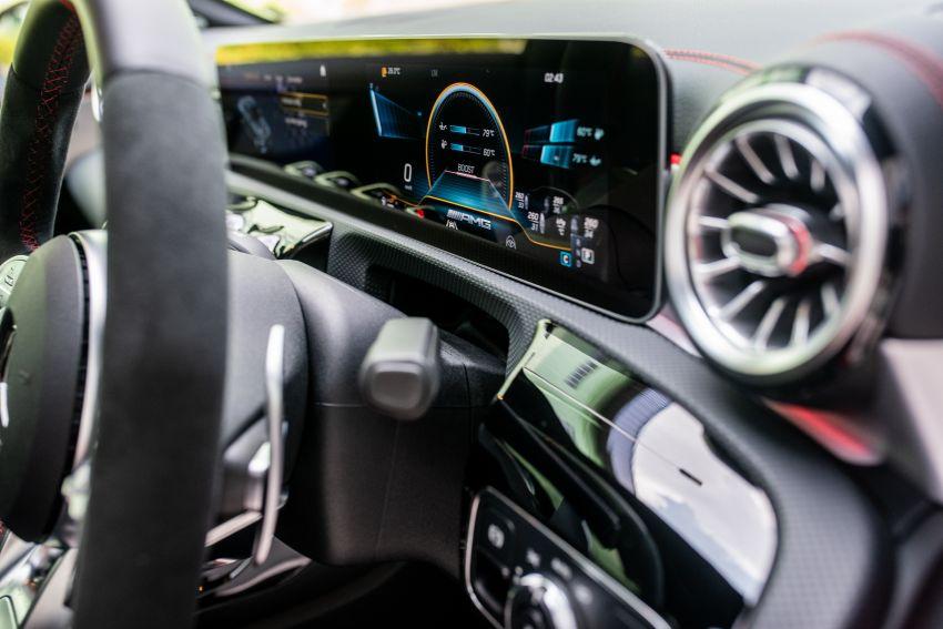 Mercedes-AMG CLA45 S 4Matic+ C118 kini di Malaysia – RM448,888, ada Drift Mode, berkuasa 421 PS/500 Nm Image #1124163