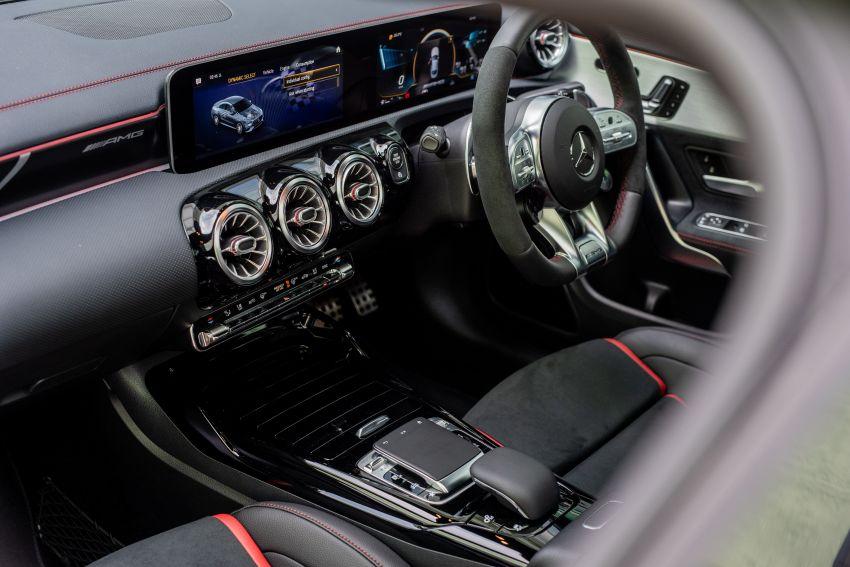 Mercedes-AMG CLA45 S 4Matic+ C118 kini di Malaysia – RM448,888, ada Drift Mode, berkuasa 421 PS/500 Nm Image #1124189