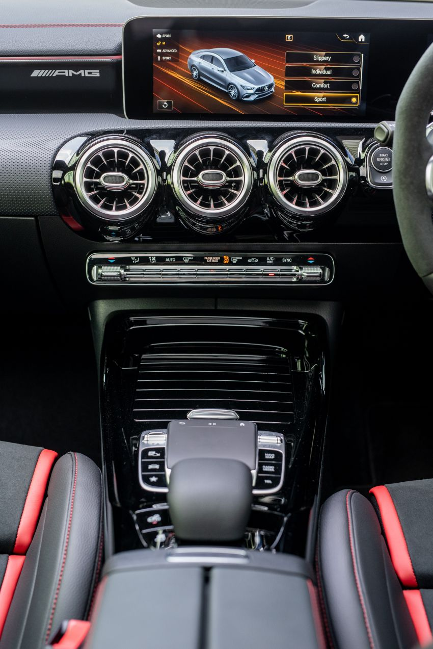 Mercedes-AMG CLA45 S 4Matic+ C118 kini di Malaysia – RM448,888, ada Drift Mode, berkuasa 421 PS/500 Nm Image #1124217