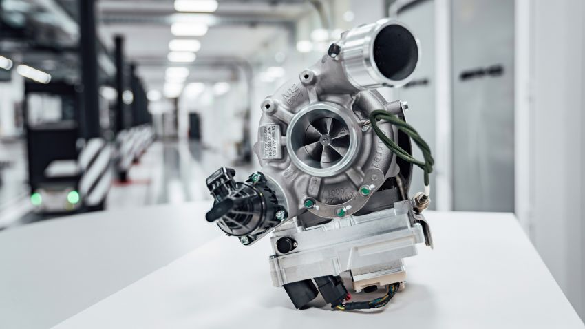 Mercedes-AMG shows off its new electric turbocharger Image #1132912