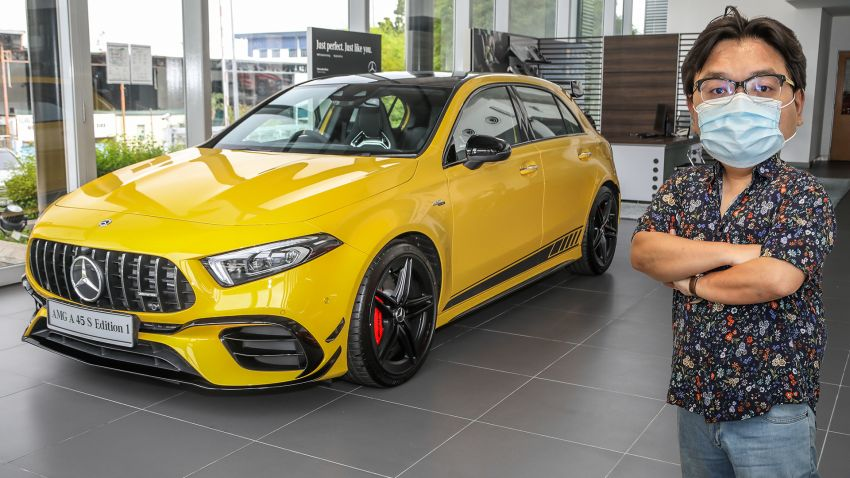 FIRST LOOK: 2020 Mercedes-AMG A45S Edition 1 Image #1128032